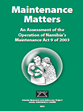 Maintenance report 2013