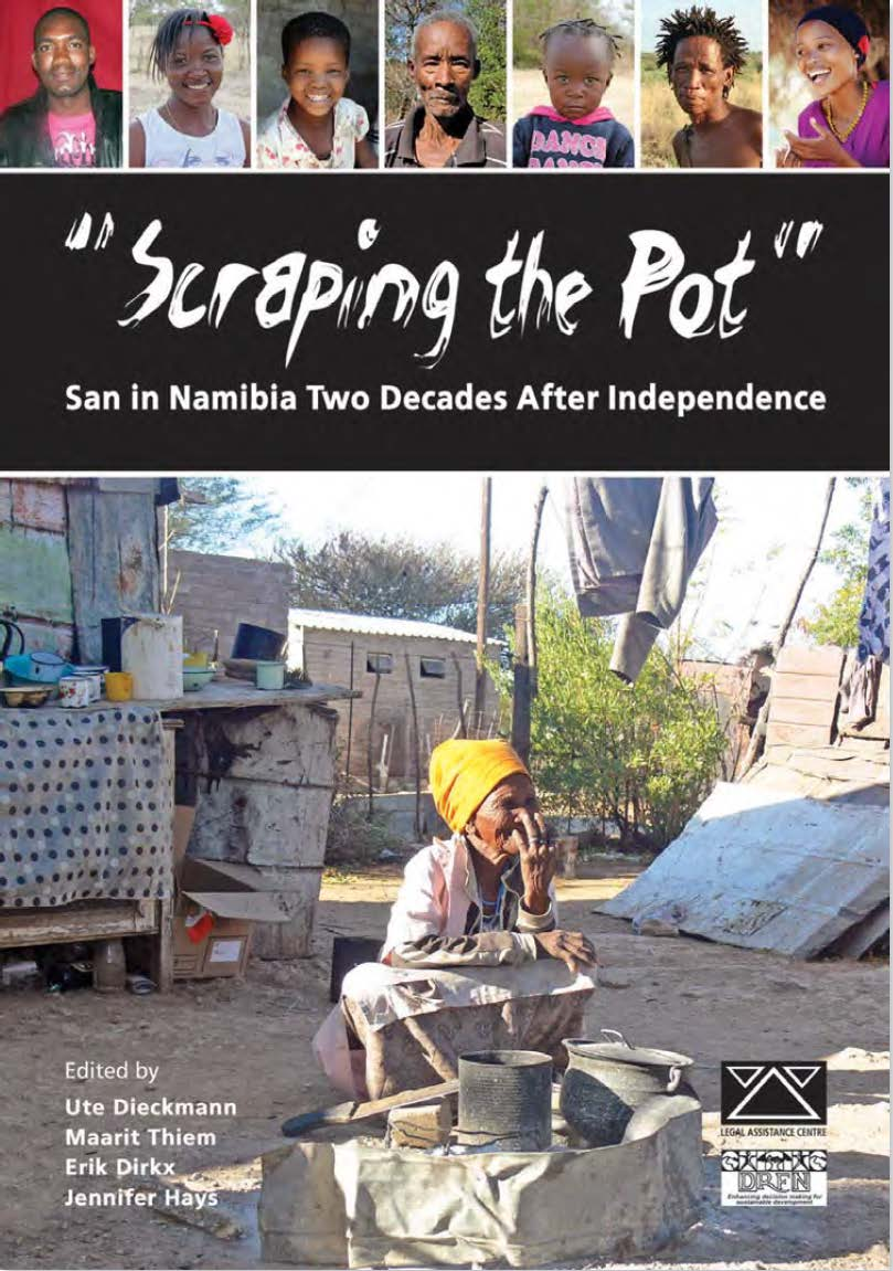Scraping the pot: book cover